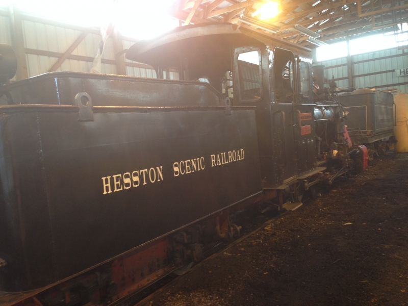 Hesston Steam Musuem Train Laporte Indiana Familyfun
