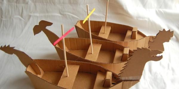 Cardboard Boat Dash