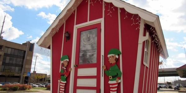 Santa In The Chalet Laporte Panoramanow Entertainment News
