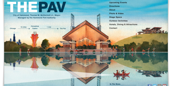 wolf lake pavilion