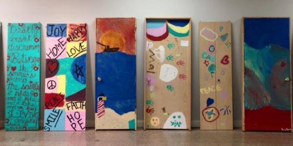 miller beach doors creative arts exhibit e1453411760648