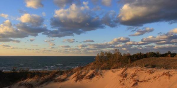 Indiana Dunes lake michigan indiana