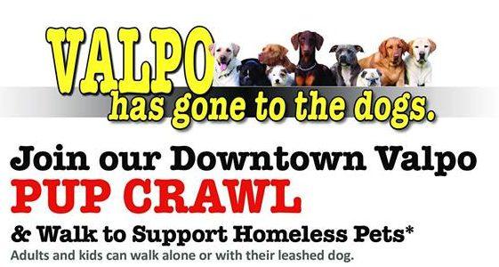 lakeshore paws pup crawl downtown valparaiso indiana e1528900310288