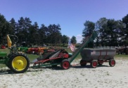 door village harvest festival laporte indiana civil war antique tractors