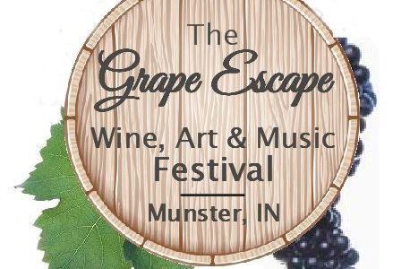 grape escape food and wine music festival munster indiana