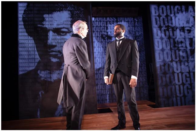 Douglass confrontation