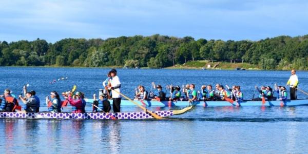 Dragon Boat Races stone lake laporte indiana