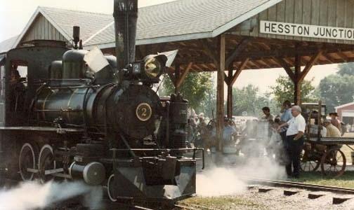 Hesston steam