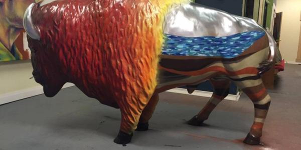 bison by felix Maldonado