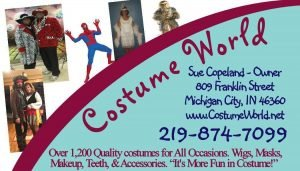costume world new oct 2021 Business Card