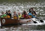 canoemobile visits northwest indiana canoeing