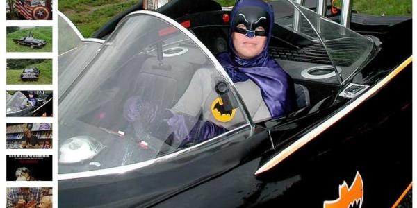 comic con bat mobile porter county expo center valparaiso indiana