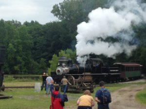 hesston steam museum labor day weekend shay locomotive