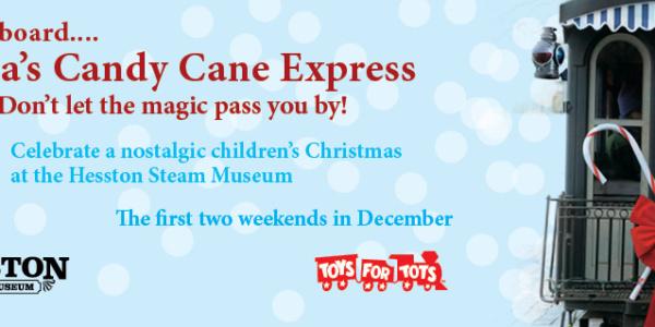 candycane express hesston steam museum laporte indiana