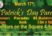 Crown Point St Patricks parade and festival 1