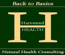 harvested health jodi barnett natural health consultant logo