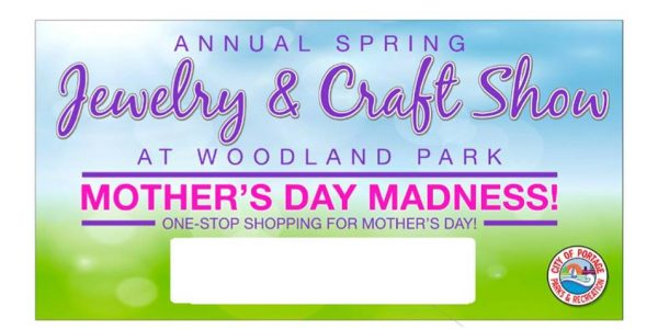 jewelry and craft show at woodland park portage indiana mothers day