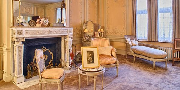 Barker Mansions Marie Antoinette Room michigan city indiana