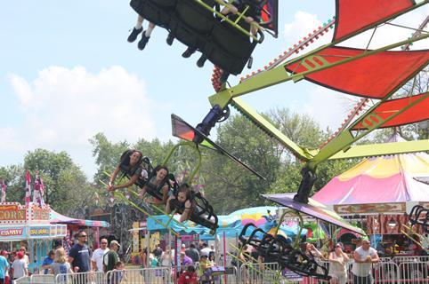 Celebrate Schererville Festival Carnival rides beer garden live music