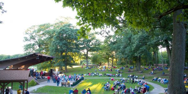 arts in the park fox park free concerts in the park laporte indiana