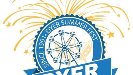 dyer indiana suummerfest 2021 carnival rides fireworks festivals