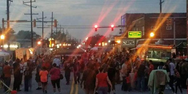live in the ville hessville indiana food trucks festival car show bike parade