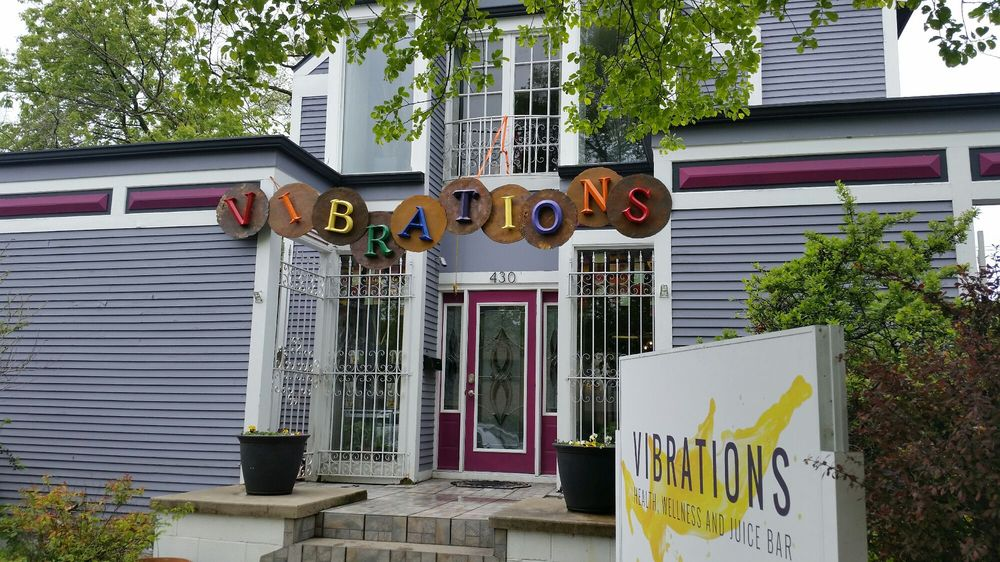 vibrations health foods store and smoothies miller beach indiana lake street shops
