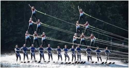 hub of awesome water ski show laporte indiana
