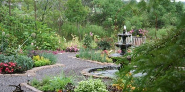 lowell garden walk lowell indiana master gardeners 1