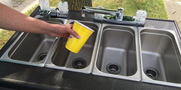 pratts portable sinks for farmers markets food trucks food vendors festivals