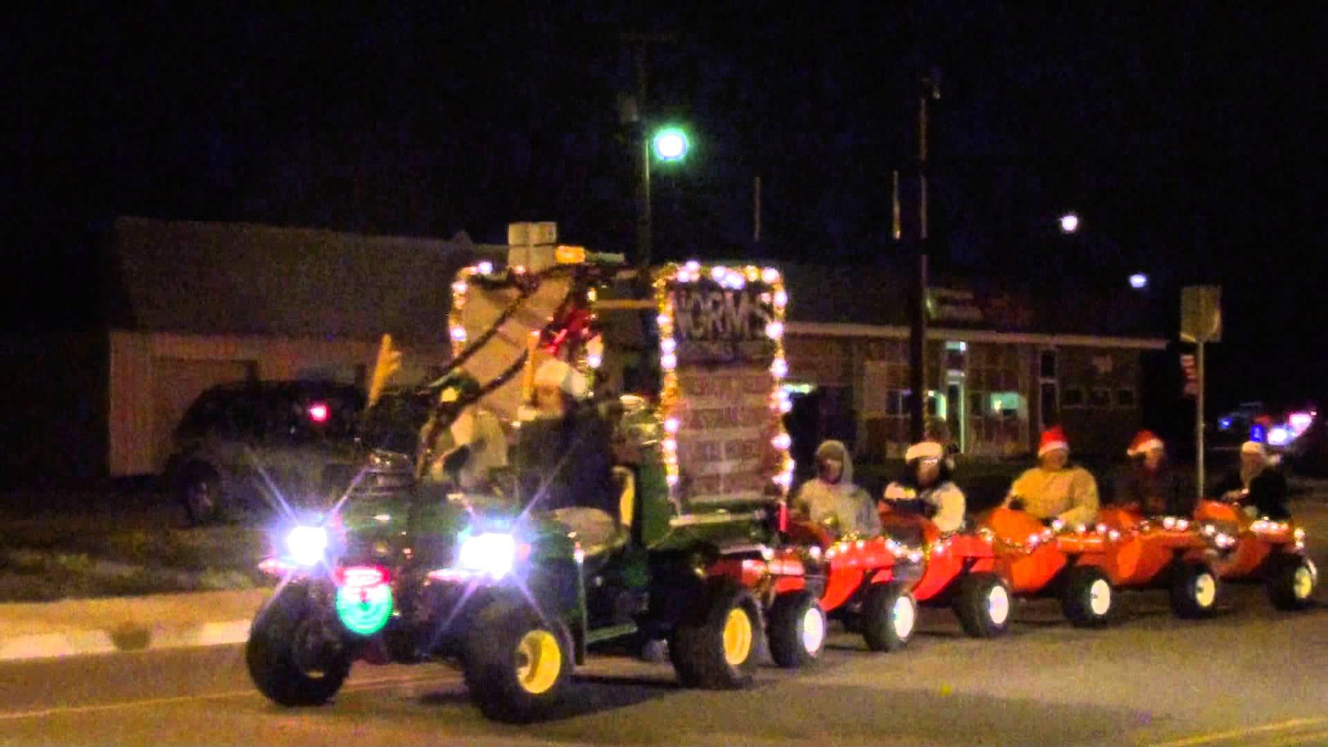 cedar lake parade of lights christmas parade