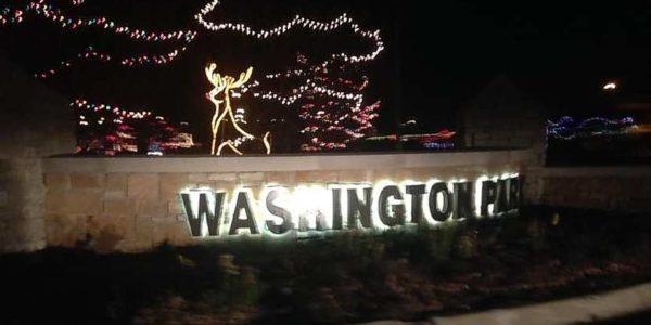 Michigan City Festival of Lights Christmas Drive Thru Washington Park nn