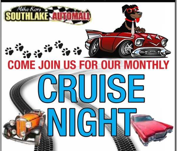 southlake auto cruise night merrillville indiana car show