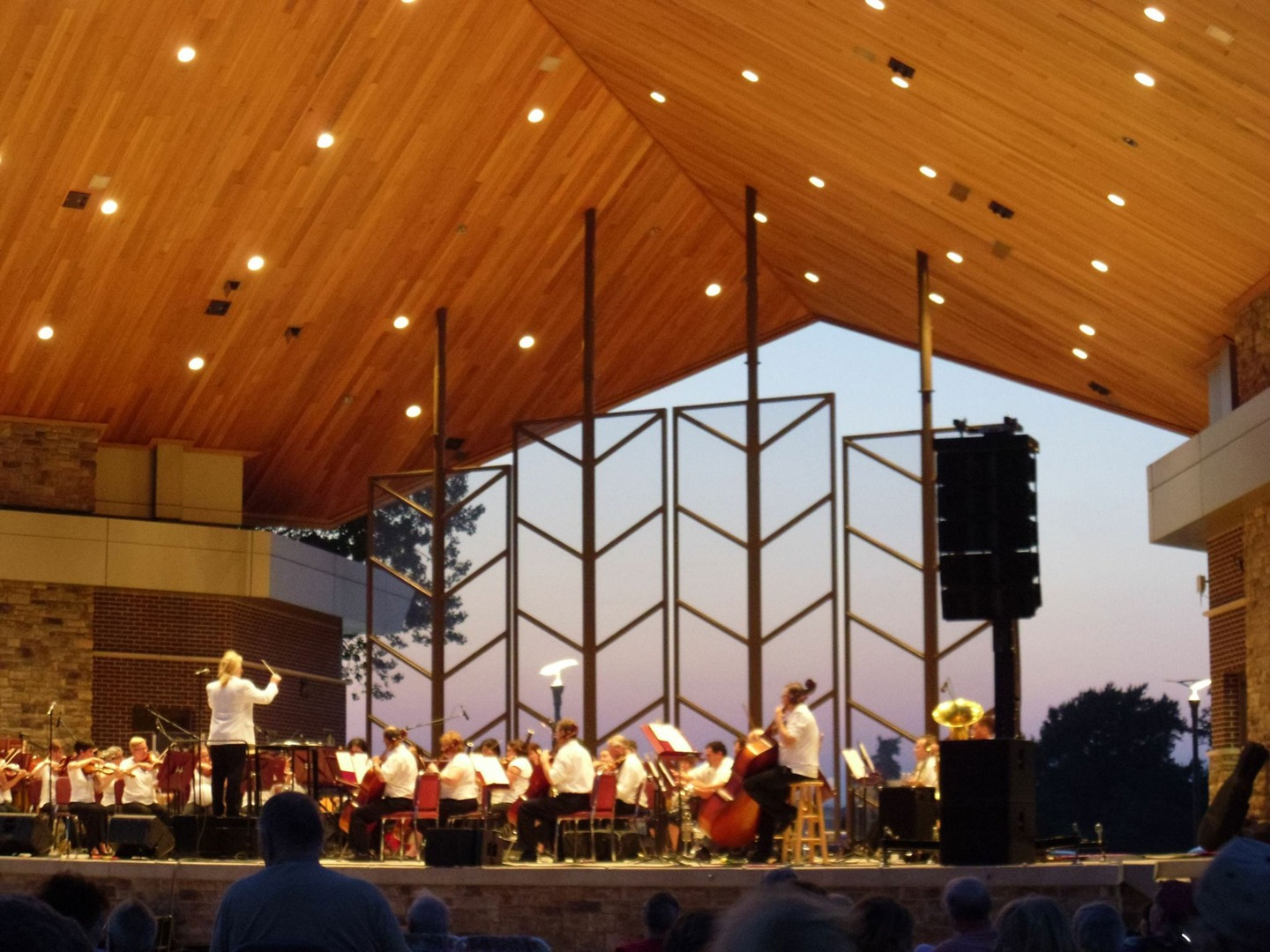 symphony concert in the park cedar lake indiana nwisymphony