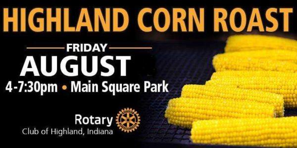 highland rotary corn roast indiana