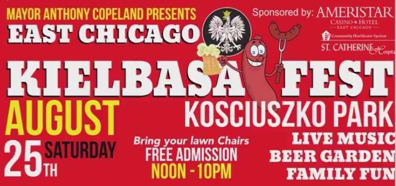 Kielbasa Fest, Kosciuszko Park, East Chicago Indiana