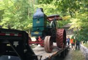 Rumely Allis Chalmers LaPorte tractor show