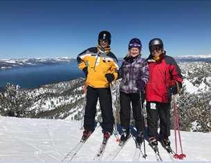 Duneland Ski club of northwest indiana snowboarders ski trips