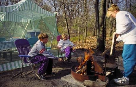 camping at indiana dunes chesterton indiana lake michigan