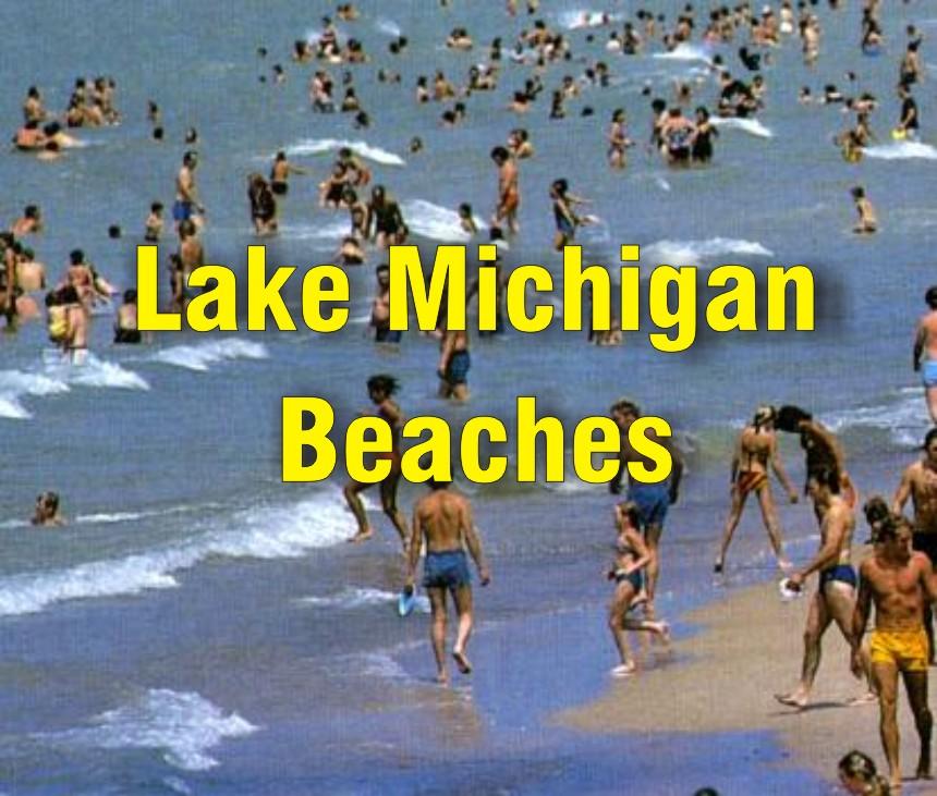 Lake Michigan Beaches Indiana Dunes Swimming