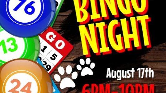 lakeshore paws bingo night hobart indiana fundraiser