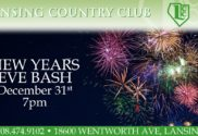 New Years bash at lansing country club