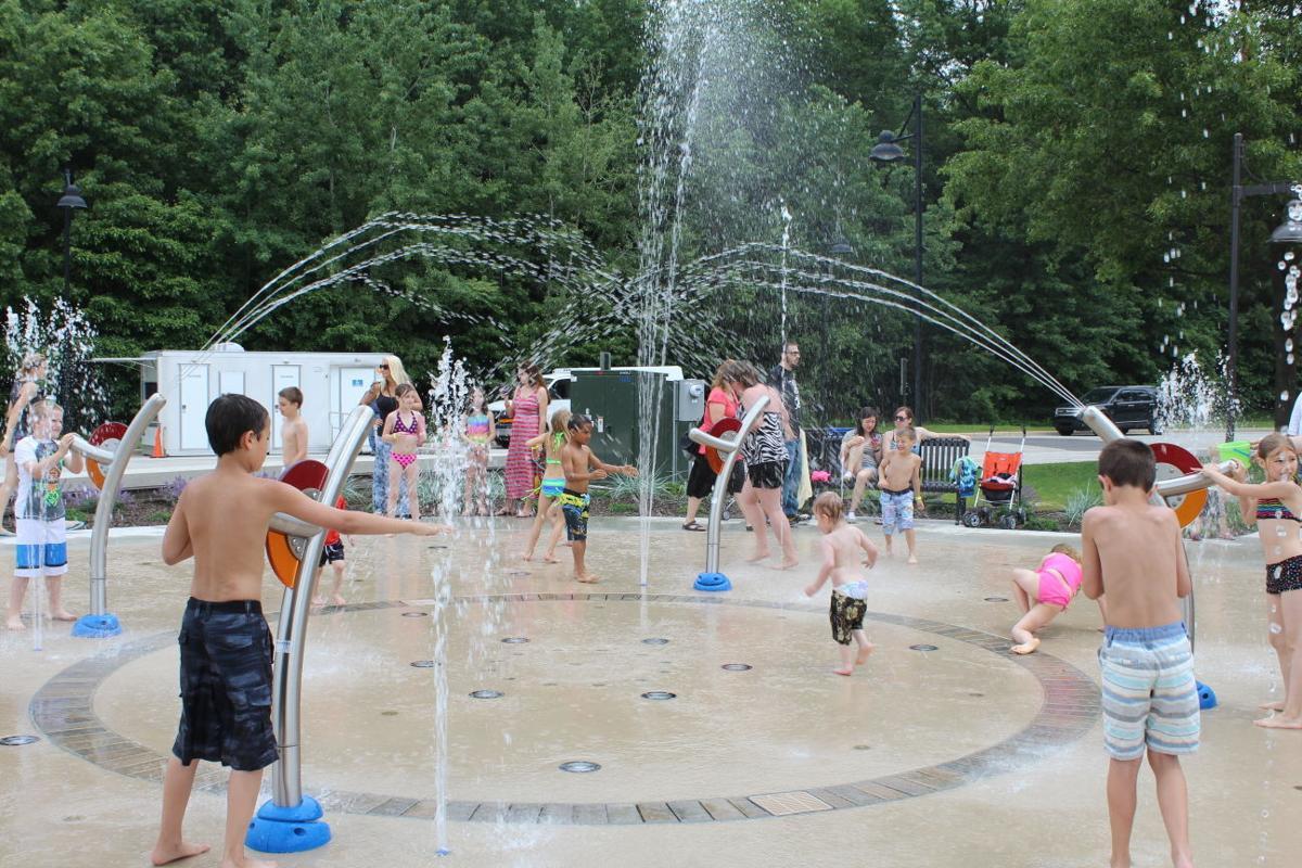 founders square splash pad