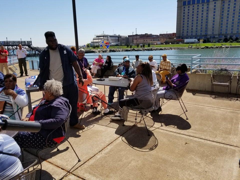 east chicago marina indiana outdoor patio