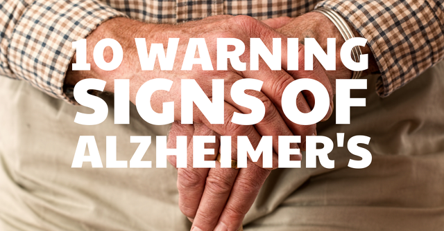 10 signs of alzheimers disease
