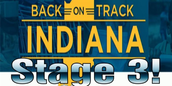 Indiana back on track enters stage three