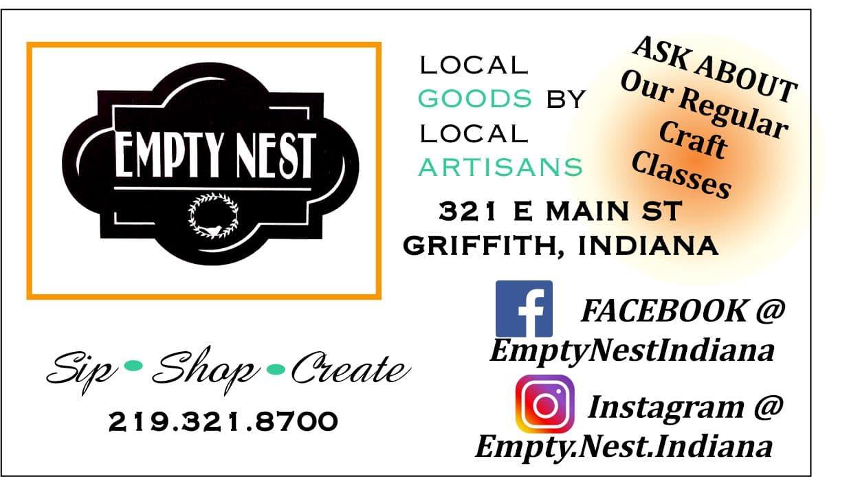empty nest griffith indiana vintage primitives