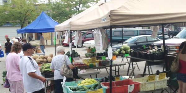 michigan city farmers market opening memorial weekend