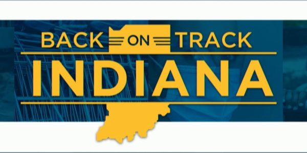 state of indiana on back on track program to open up the state