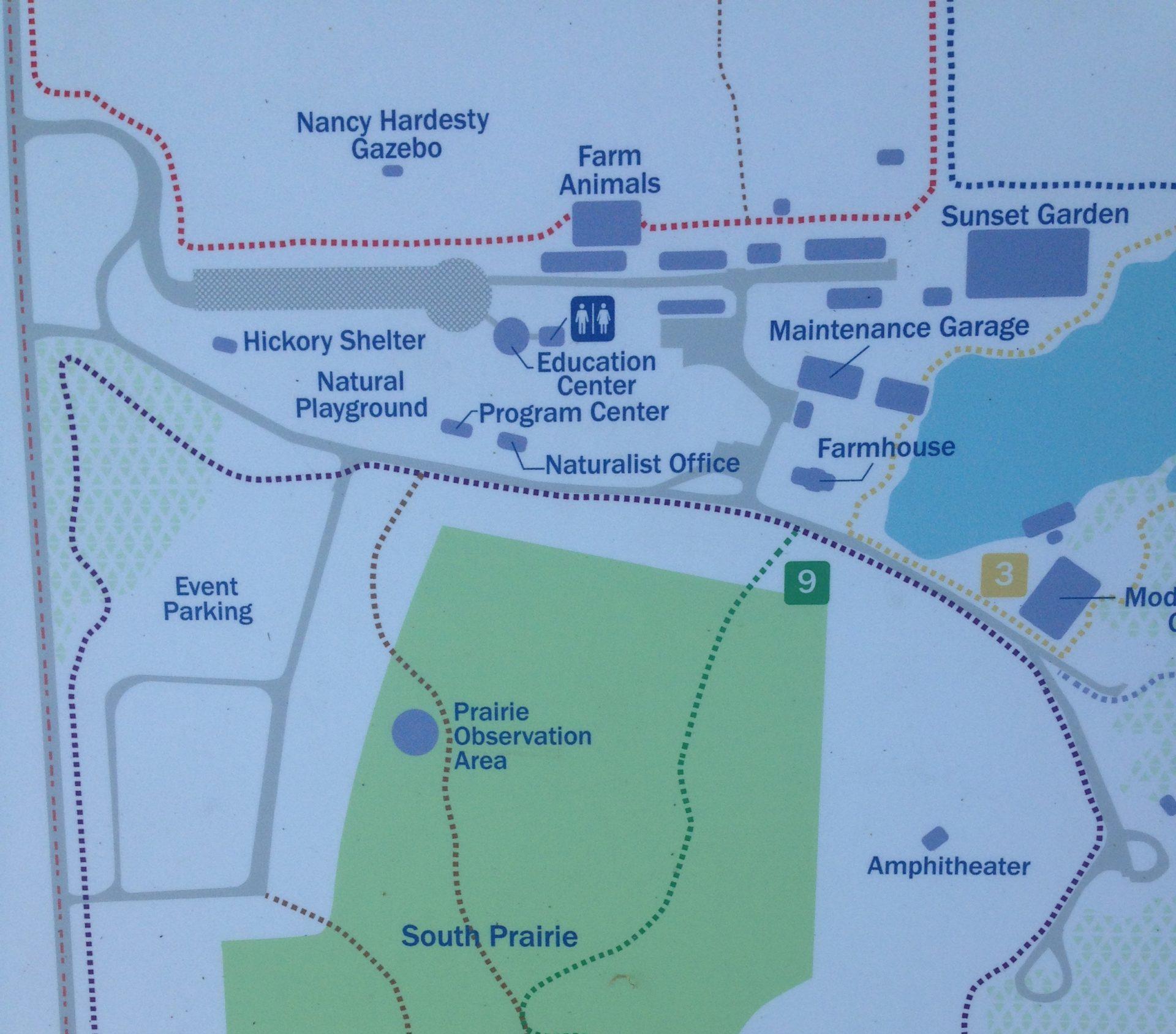 sunset hill natrue trail sign kiosk scaled e1589916895600